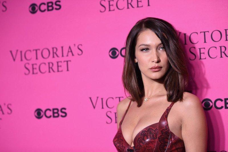 Model Bella Hadid attends as Victoria's Secret Angels
