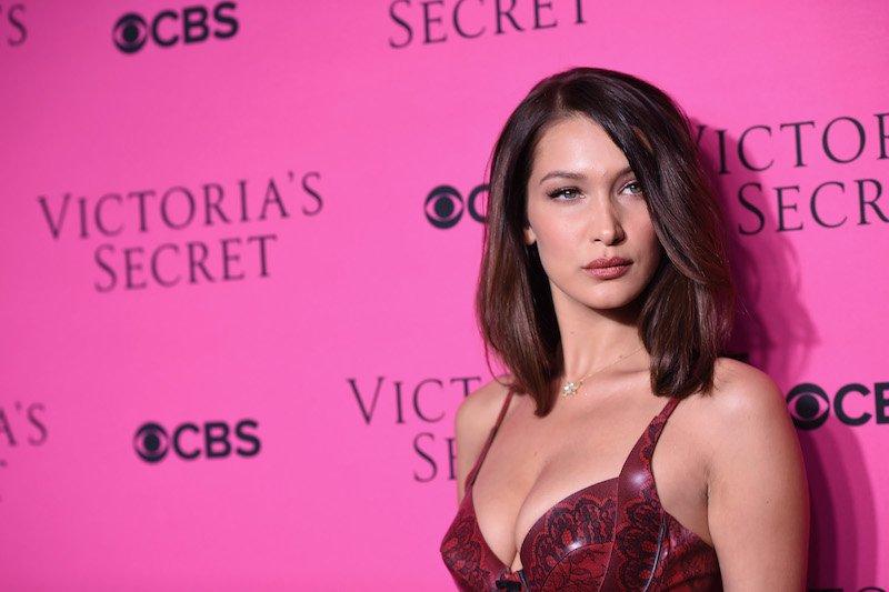 Model Bella Hadid attends as Victoria's Secret Angels