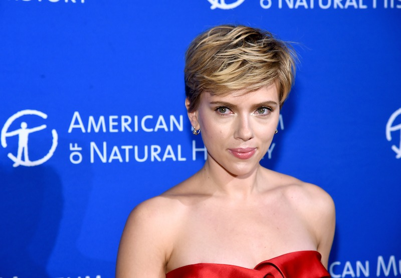 Scarlett Johansson attends the American Museum Of Natural History's 2017 Museum Gala at American