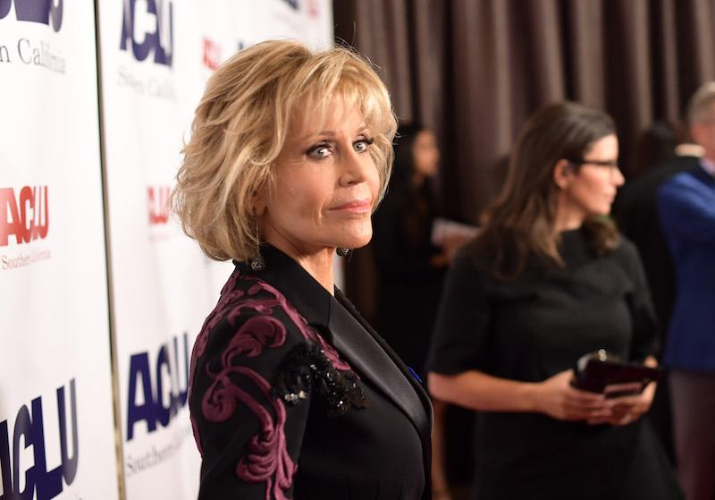 Jane Fonda attends ACLU SoCal Hosts Annual Bill of Rights Dinner