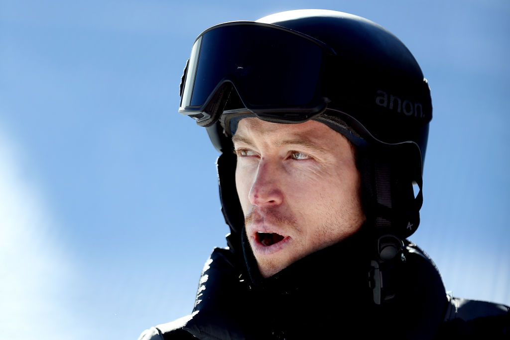 Shaun White in snowboarding gear