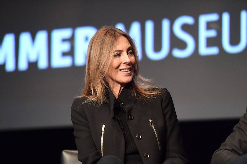 Director Kathryn Bigelow speaks onstage