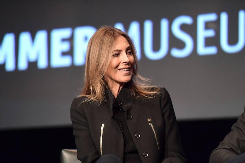 Director Kathryn Bigelow speaks onstage