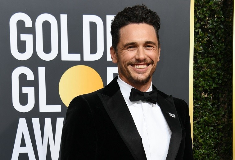 Actor James Franco arrives for the 75th Golden Globe Awards on January 7, 2018, in Beverly Hills, California.