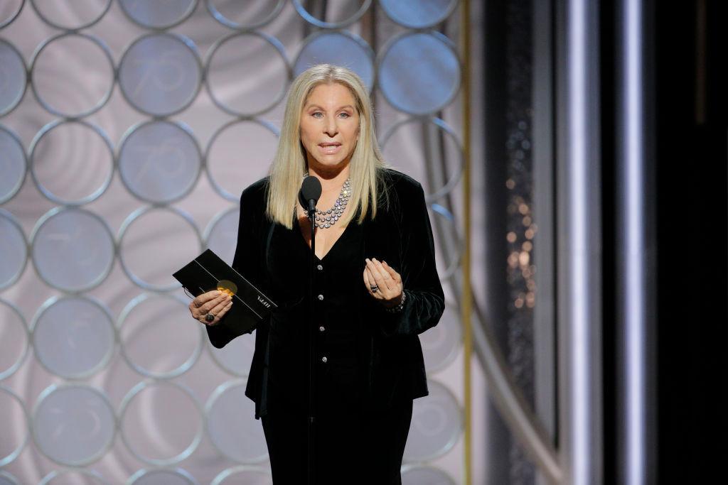 Barbra Streisand Golden Globes 2018