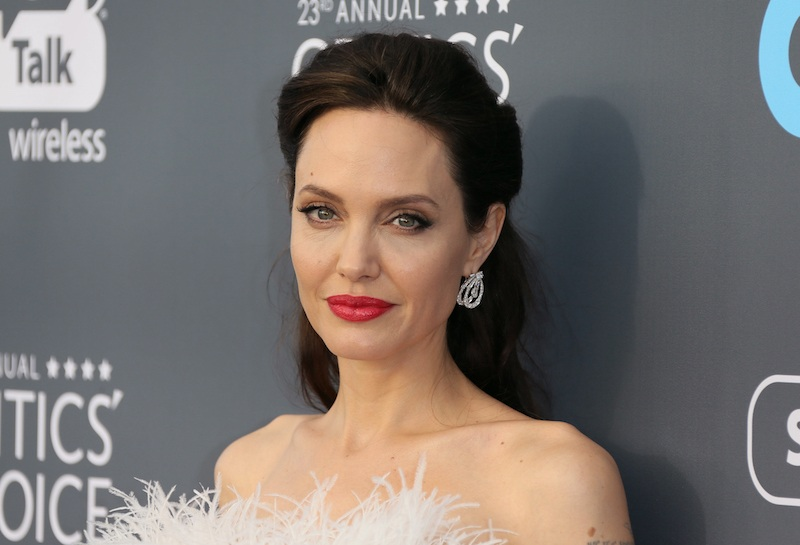 Actress/director Angelina Jolie arrives for the 23rd annual Critics' Choice