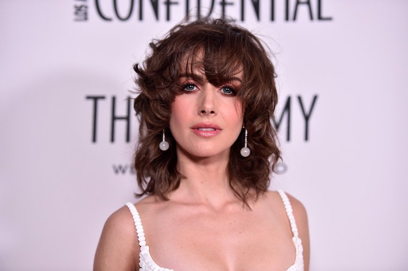 "WOOD, CA - JANUARY 13:  Alison Brie attends Los Angeles Confidential Celebrates ""Awards Issue"""