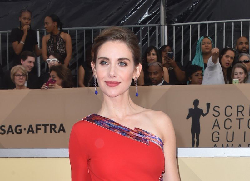 Actress Alison Brie arrives for the 24th Annual Screen Actors Guild Awards at the Shrine Exposition Center on January 21, 2018 in Los Angeles, California. / AFP PHOTO / FREDERIC J. BROWN        (Photo credit should read FREDERIC J. BROWN/AFP/Getty Images)