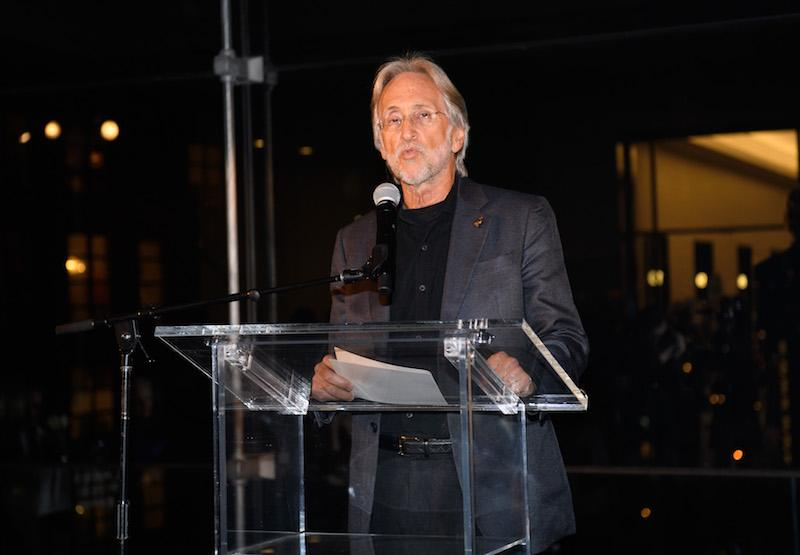 Neil Portnow speaks at the GRAMMY Week Kick-Off Event And Welcome Reception at