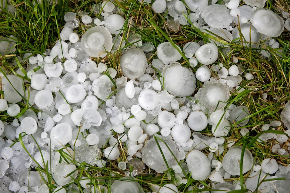 Great balls of hail
