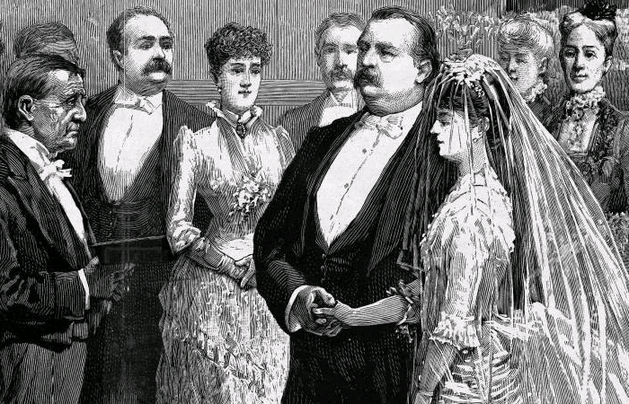 Grover Cleveland and Frances Folsom