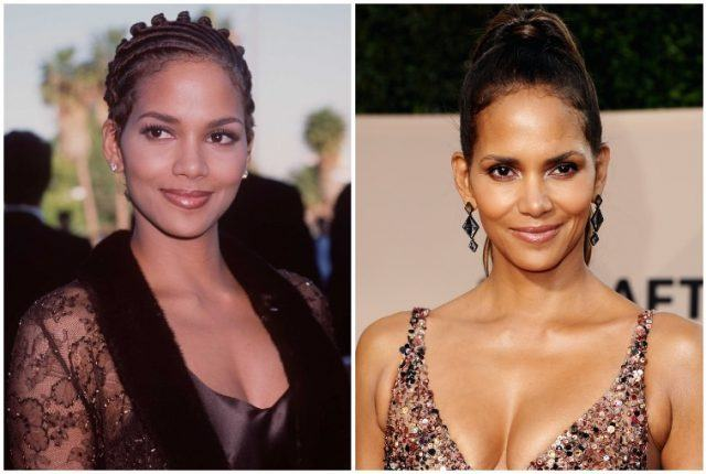 Halle Berry collage.