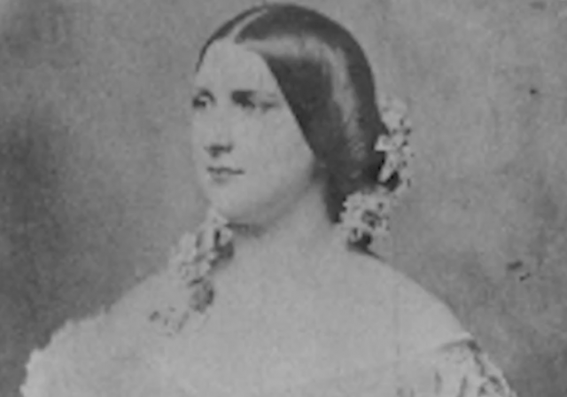 Harriet Lane in a photograph.