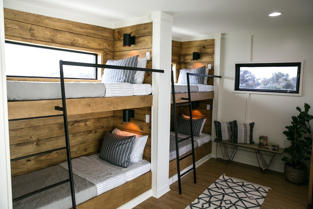 Fixer Upper House boat bunk beds