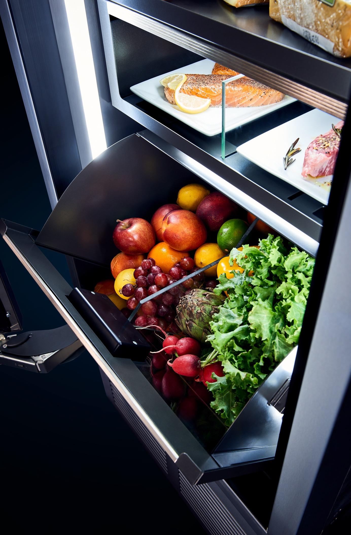 Humidity Control Perlick fridge
