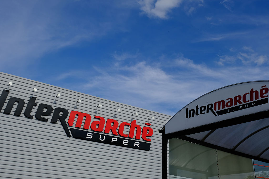 Intermarche French grocery store