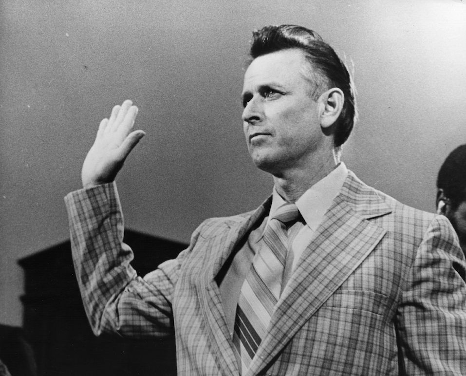 James Earl Ray, the convicted killer of Civil Rights leader Martin Luther King