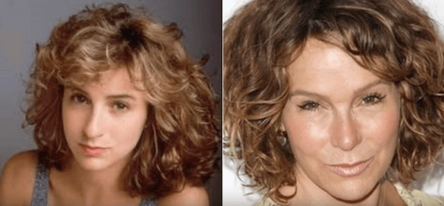 Jennifer Grey before and after photos.