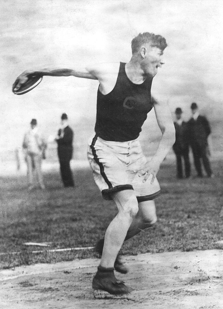 American footballer and athlete Jim Thorpe