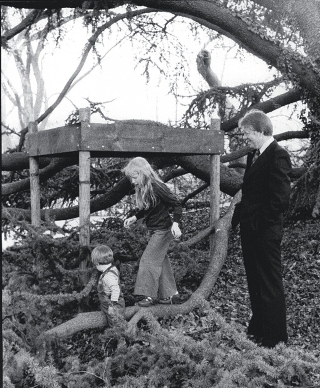 Jimmy Carter Tree house