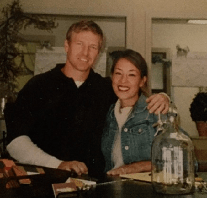 Joanna and-Chip Gaines young