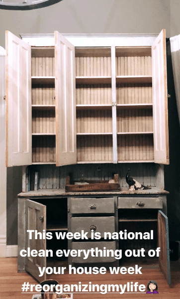 Joanna Gaines Clean out