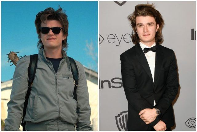 Joe Keery collage.