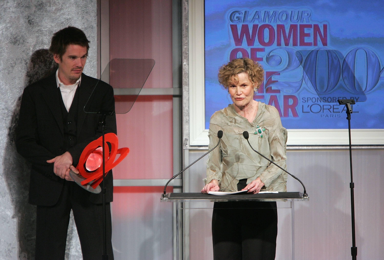 Judy Blume Receiving her award