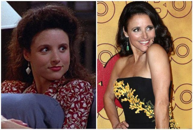 Julia Louis-Dreyfus collage.