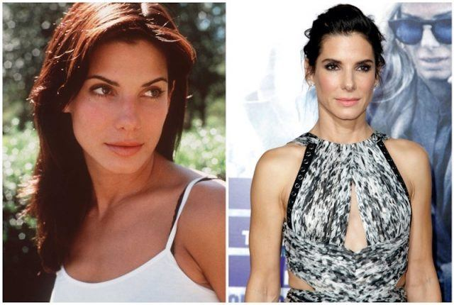 Sandra Bullock collage.