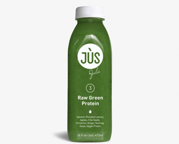 a raw green juice