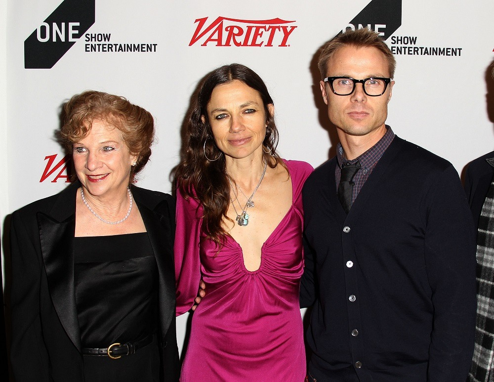 Mary Warlick, CEO/The One Club, actress Justine Bateman, and Jay Goodman