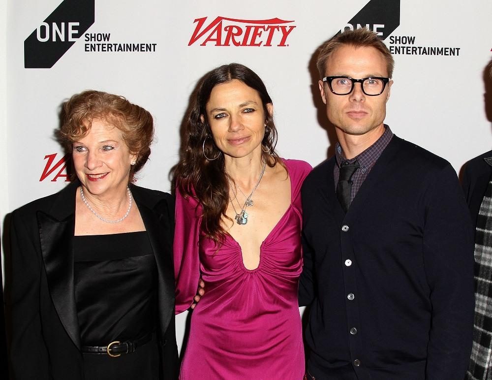 Mary Warlick, CEO/The One Club, actress Justine Bateman, and Jay Goodman