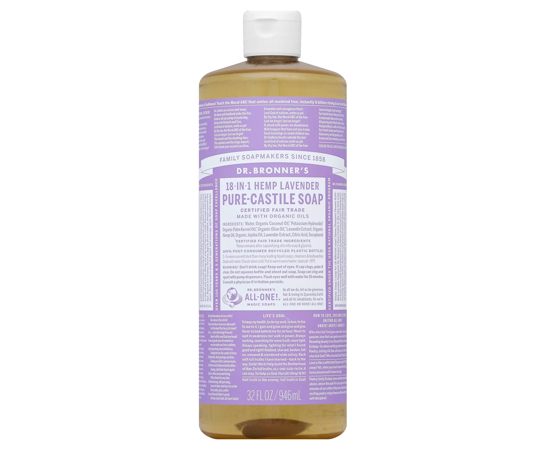 Dr. Bronner's Pure Castile Soap in lavender