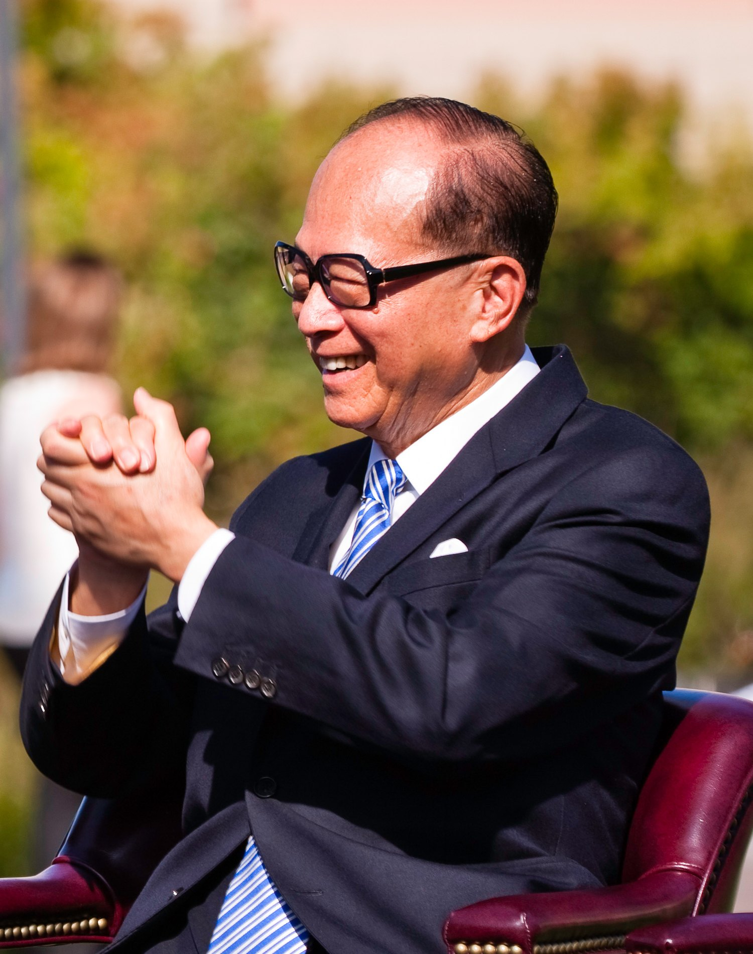 Chinese Businessman Li Ka Shing
