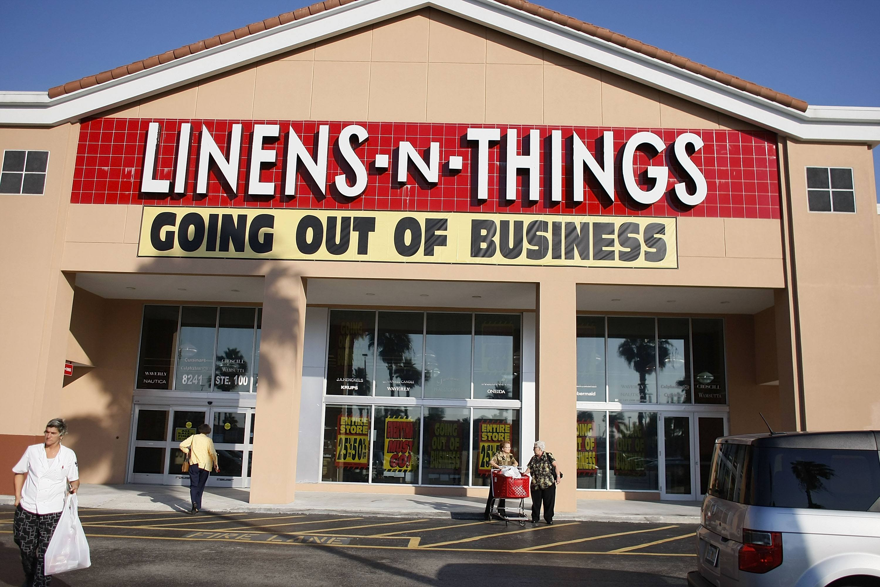 Linens N Things Going Out Of Business