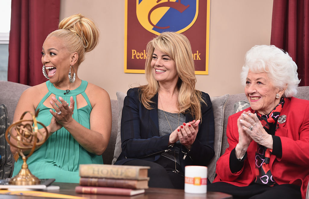 Actresses Kim Fields, Lisa Whelchel, and Charlotte Rae