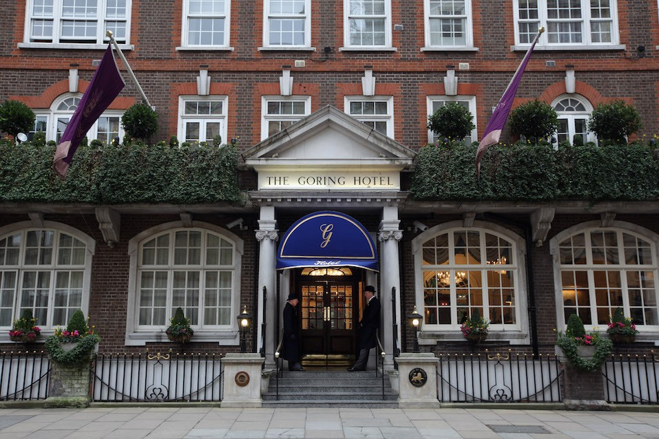 Exterior view of The Goring Hotel