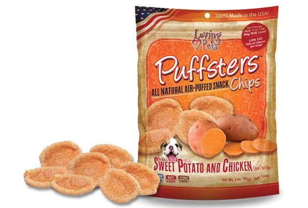 Loving Pets Puffsters dog treats