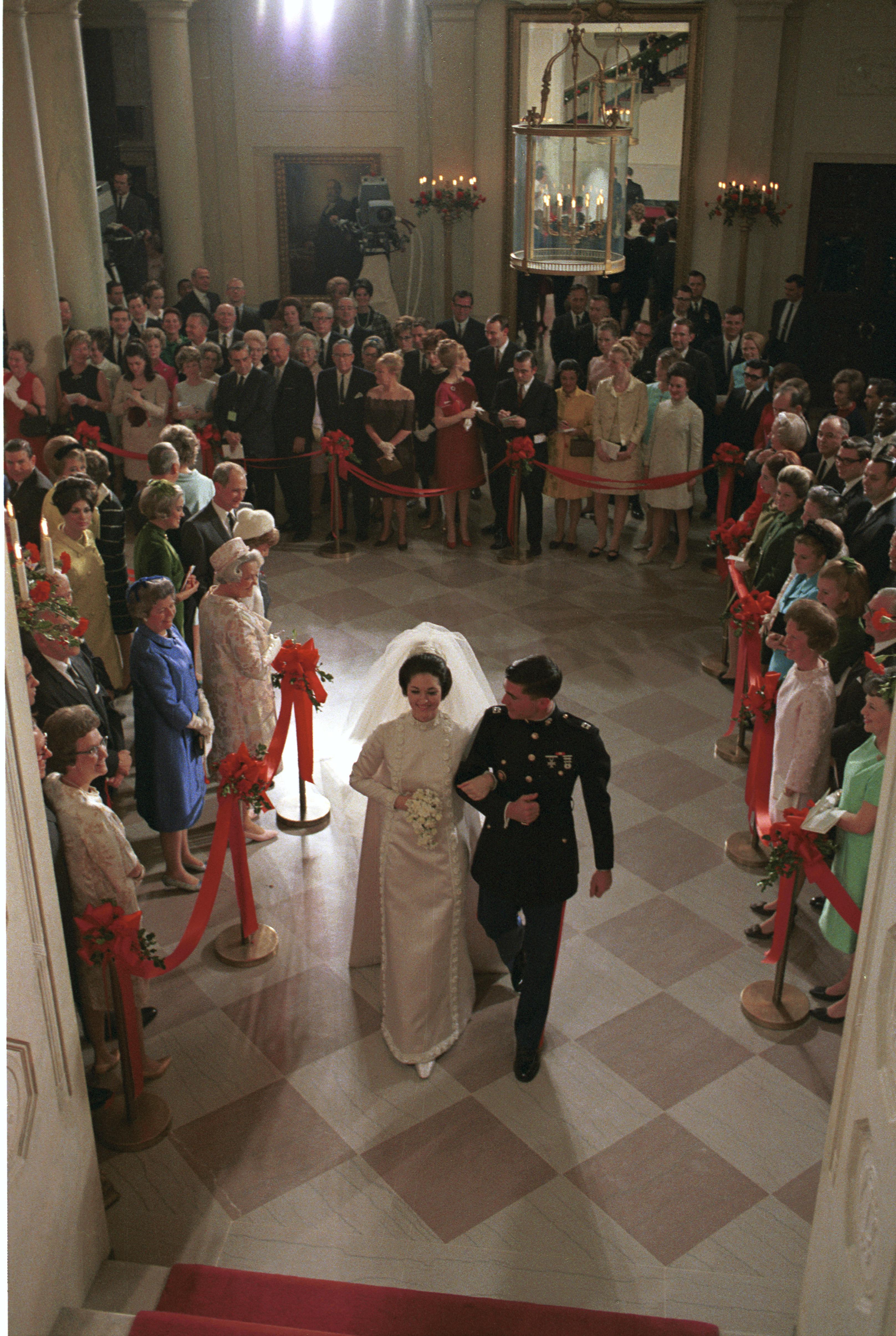 Lynda Bird Johnson andCharles Spittal Robb wedding