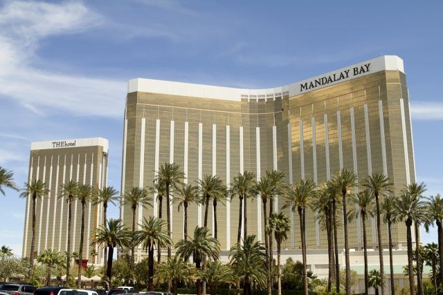 Mandalay Bay Hotel and Casino on the Srip in Las Vegas