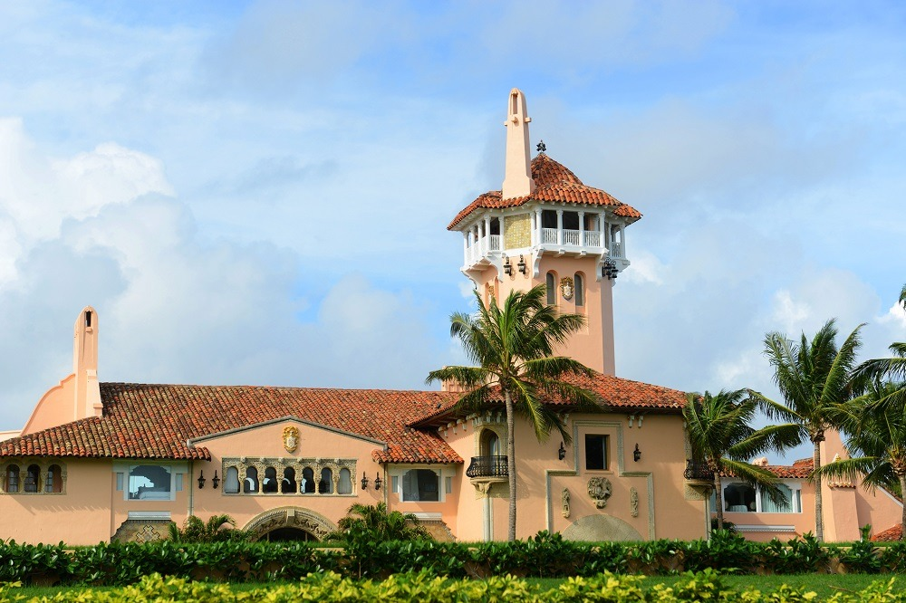 Mar-a-Lago on Palm Beach Island