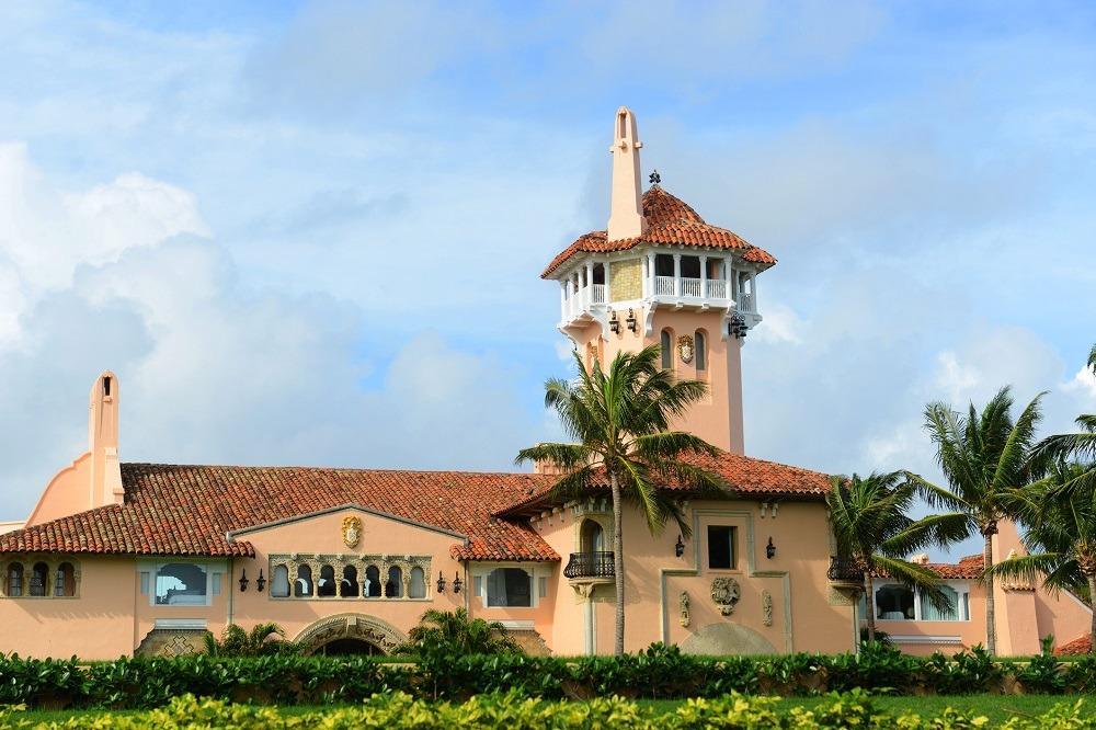 Mar-a-Lago on Palm Beach Island