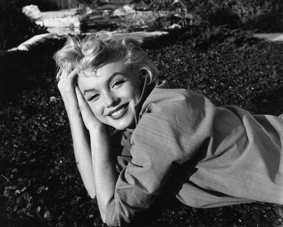 American film star Marilyn Monroe