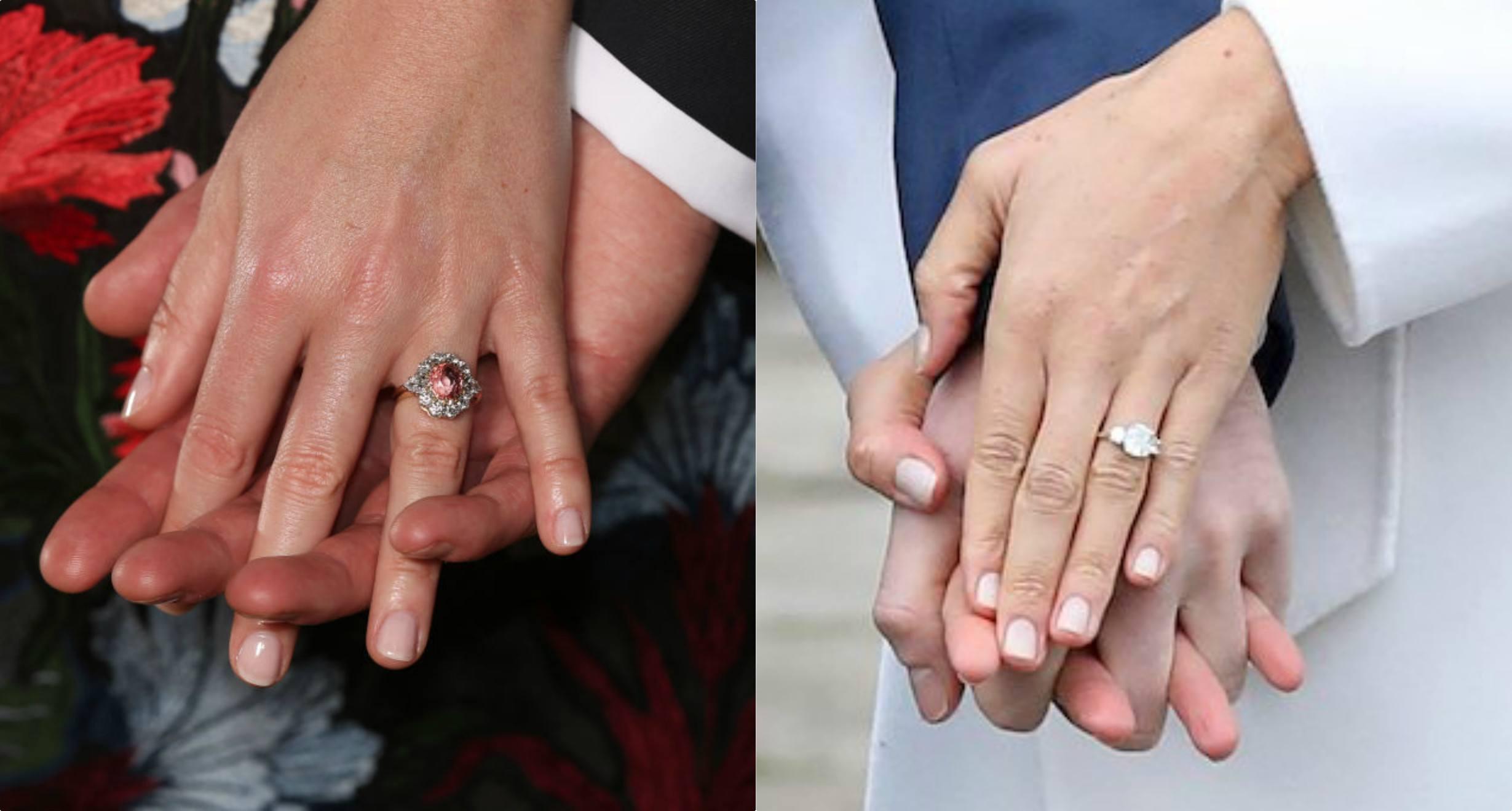Meghan Markle Princess Eugenie Rings