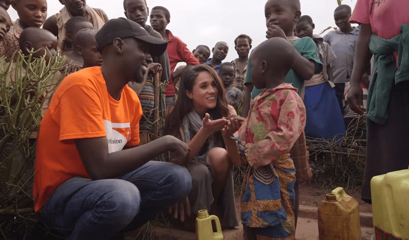 Meghan Markle World Vision Canada Rwanda