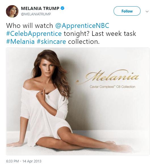 Melania Trump Apprentice