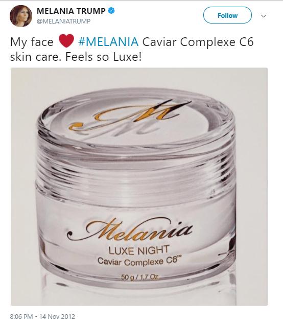 Melania Trump Skin