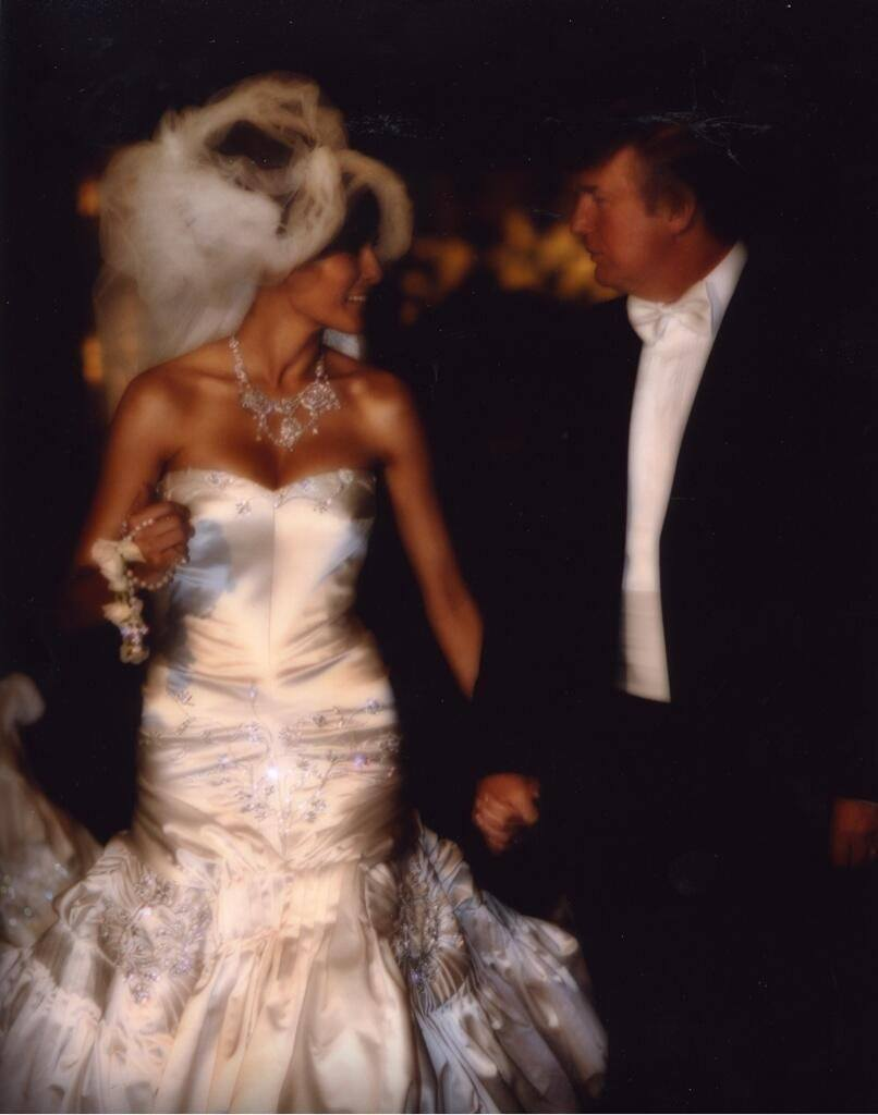 Melania and Donald Trump Wedding