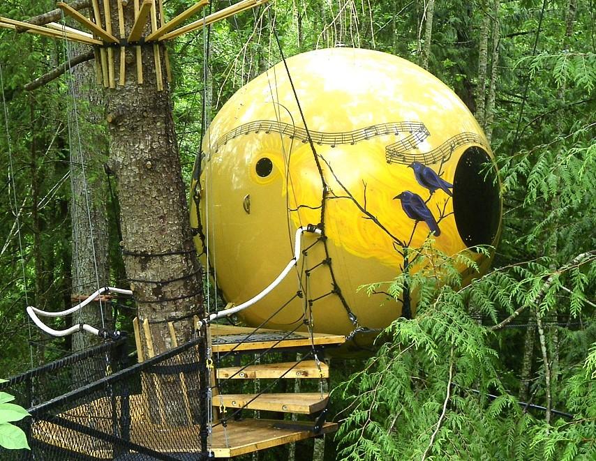 Free Spirit Spheres Melody Treehouse